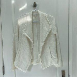 Club Monaco tweed blazer/cardigan size xs